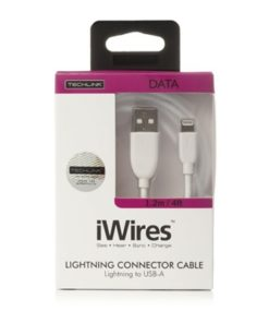 iWires White 2m USB to Lightning Cable
