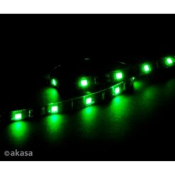 Akasa Vegas M 0.5m Magnetic Green LED Light Strip
