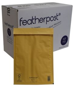 Featherpost Size F/3 Bubble Lined Mailers 250mm x 345mm Box of 100