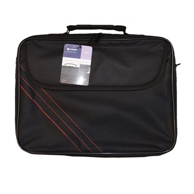 """Target 15.6"""" Notebook Carry Bag Black and Red"""