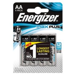 Energizer MaxPlus Pack of 4 AA Batteries