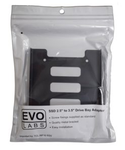 "Evo Labs Single Metal SSD/HDD 2.5"" to 3.5"" Drive Bay Adapter"