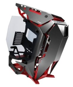 Antec Torque Full Tower 2 x USB 3.0 / 1 x USB 3.1 Type-C Tempered Glass Side Window Panels Black & Red Open Airflow Design Case