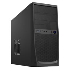 CiT Elite Micro Tower 1 x USB 3.0 / 1 x USB 2.0 Black Case with 500W PSU