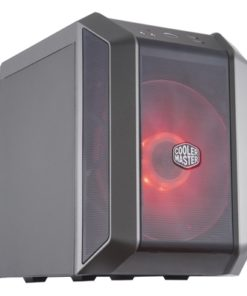 Cooler Master MasterCase H100 Mini-ITX 2 x USB 3.2 Gen 1 Iron Grey Case with RGB LED Fan