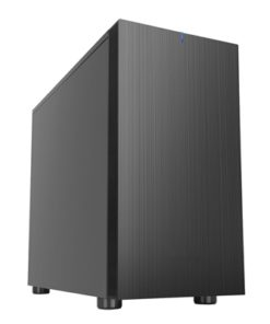 Cronus Hypnos Micro Tower 2 x USB 3.0 Sound-Dampened Black Case