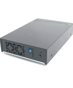 Target Thin Client Mini-ITX VESA Mountable Black Case with 60W External PSU