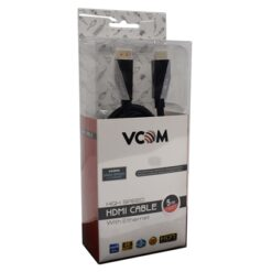 VCOM HDMI 2.0 (M) to HDMI 2.0 (M) 5m Black Premium Ultra HD 4K Supported Retail Packaged Display Cable