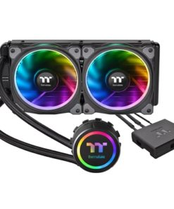 Thermaltake Floe Riing RGB 240 TT Premium Edition Universal Socket 240mm 1400RPM RGB LED AiO Liquid CPU Cooler with Wired RGB Controller