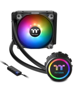 Thermaltake Water 3.0 120 ARGB Sync Edition Universal Socket 120mm PWM 1500RPM ARGB LED AiO Liquid CPU Cooler with Wired ARGB Controller
