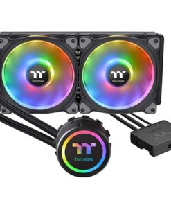 Thermaltake Floe DX RGB 280mm TT Premium Edition Universal Socket 280mm 1400RPM RGB LED AiO Liquid CPU Cooler with Wired RGB Controller
