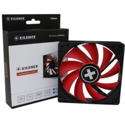 Xilence Performance C 120mm 1500RPM PWM Black & Red Fan