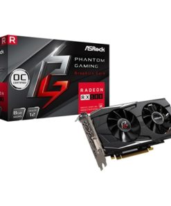 ASRock AMD Radeon RX580 8GB OC Phantom Gaming D Dual Fan Graphics Card