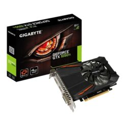 Gigabyte GeForce GTX 1050 Ti D5 (rev 1.0/rev 1.1) 4GB GDDR5 90mm Custom Designed Single Fan Cooling System Graphics Card