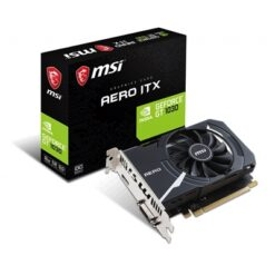 MSI GeForce GT 1030 Aero ITX 2GB OC Single Fan PCI-E Graphics Card