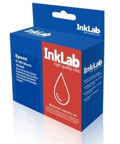 InkLab 1281 Epson Compatible Black Replacement Ink