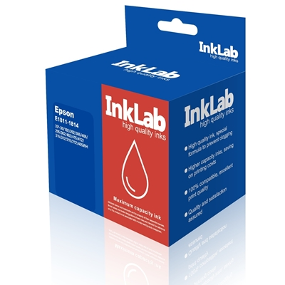 InkLab 1811-1814 Epson Compatible Multipack Replacement Ink