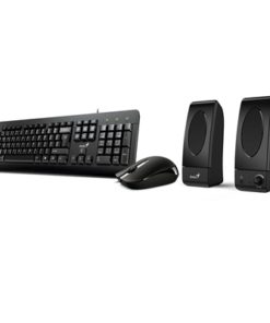 Genius KMS-U130 USB Keyboard & Mouse Set with Speakers