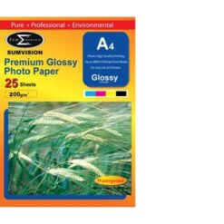Sumvision A4 200gsm (25 pack) Glossy Photo Paper