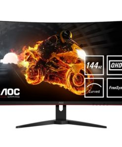 "AOC CQ32G1 31.5"" QHD 144Hz 1ms HDMI / Display Port Monitor with Freesync Curved Monitor"