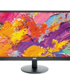 "AOC E2470SWH HD 24"" HD Widescreen DVI VGA HDMI 1ms Monitor"