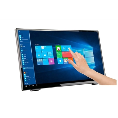 "Hanns G HT248PPB 23.8"" LED Widescreen VGA/HDMI/Display Port Touchscreen Monitor"