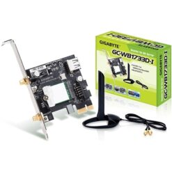 Gigabyte GC-WB1733D-I Wireless AC1750 Bluetooth 5.0 Dual Band PCI-Express WiFi Card