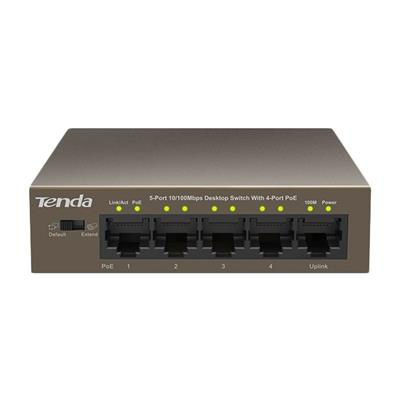 Tenda TEF1105P-4-63W 5 Port 10/100 Mbps Fast Ethernet PoE Switch