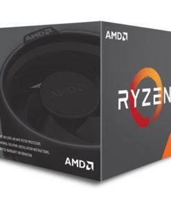 AMD Ryzen 7 2700 3.2GHz Eight Core AM4 Socket Overclockable Processor with Wraith Spire with RGB LED