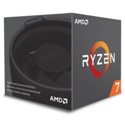 AMD Ryzen 7 2700X 3.7GHz 8 Core AM4 Socket Overclockable Processor with Wraith Spire with RGB LED