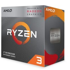 AMD Ryzen 3 3200G with Radeon Vega 8 Graphics and Wraith Stealth Cooler 3.6Ghz Quad Core AM4 Overclockable Processor