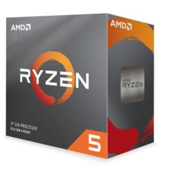 AMD Ryzen 5 3600 3.6Ghz 6 Core AM4 Overclockable Processor with Wraith Stealth Cooler