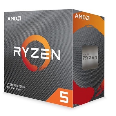 AMD Ryzen 5 3600 with Wraith Stealth cooler 3.6Ghz 6 Core AM4 Overclockable Processor