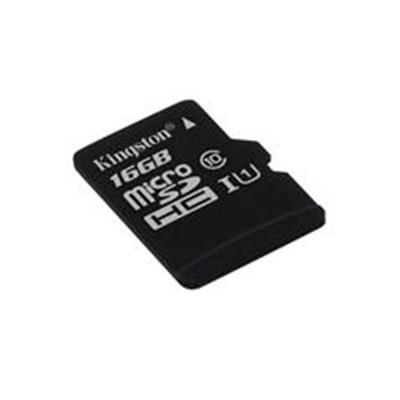 Kingston 16GB Micro SDHC Class 10 Flash Card with Adapter