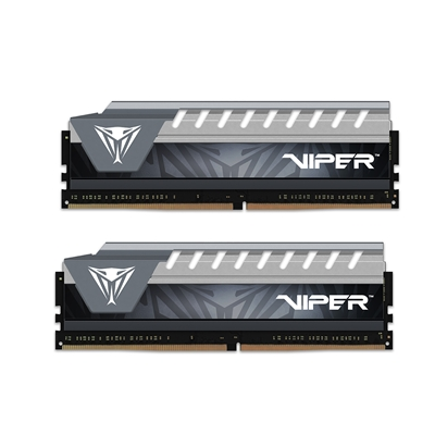 Patriot Viper Elite Series 8GB Black & Grey Heatsink (2 x 4GB) DDR4 2666MHz DIMM System Memory