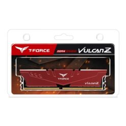 Team Vulcan Z 16GB Red Heatsink (1 x 16GB) DDR4 2666MHz DIMM System Memory