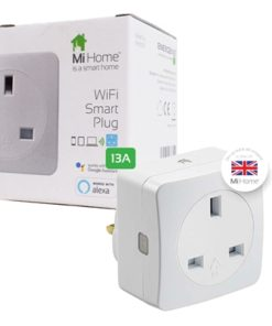 Energenie WiFi Smart Mains Plug - Compatible with Google Assistant and Alexa