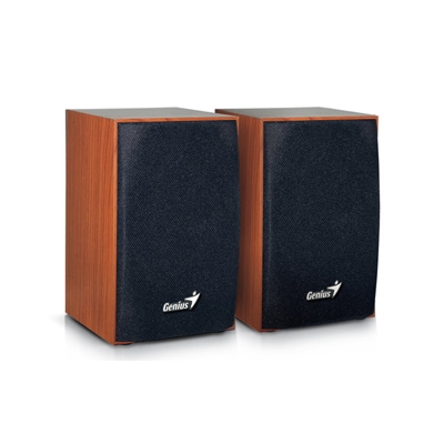 Genius SP-HF160 4 Watt USB 2.0 Wooden Speakers