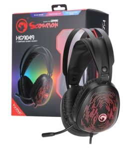 Marvo Scorpion HG9049 7.1 Virtual Surround Sound 7 Colour LED Gaming Headset - Xbox PS4 Compatible