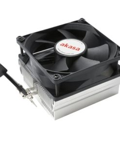 Akasa AK-CC1107EP01 AMD Socket 80mm 3000RPM Black Fan CPU Cooler