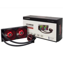 Xilence Performance A+ Series LiQuRizer LQ240 RGB Universal Socket 240mm 1600RPM RGB LED AiO Liquid CPU Cooler