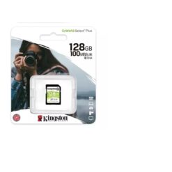 Kingston Canvas Select Plus  V30 128GB SD Class 10 UHS-I U3 Flash Card