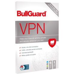 BullGuard VPN 2021 1 Year 6 Device