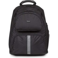 """Targus Education Sport Notebook Computer Carrying Backpack for 15.6"""" Laptop - Black"""