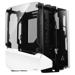 Antec Striker Open-Frame Mini Tower 2 x USB 3.0 / 1 x USB 3.1 Type-C Tempered Glass Side & Front Window Panels White Case