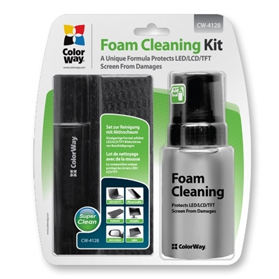 ColorWay 3 in 1 Cleaning Wipes Active Foam and Soft Brush Set