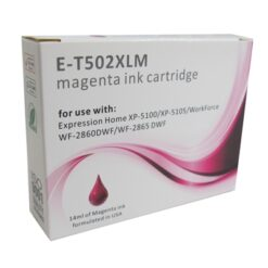 502 XL Epson Compatible Magenta Replacement Ink