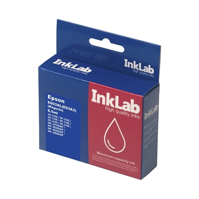 InkLab 603XL Epson Compatible Magenta Replacement Ink