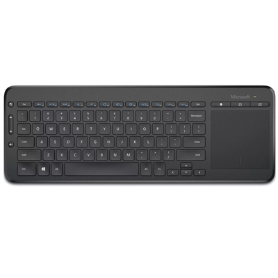 Microsoft All-in-One Wireless Media Keyboard with Integrated Trackpad
