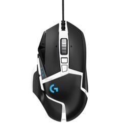 Logitech G G502 Special Edition Hero USB RGB LED Black & White Programmable Gaming Mouse